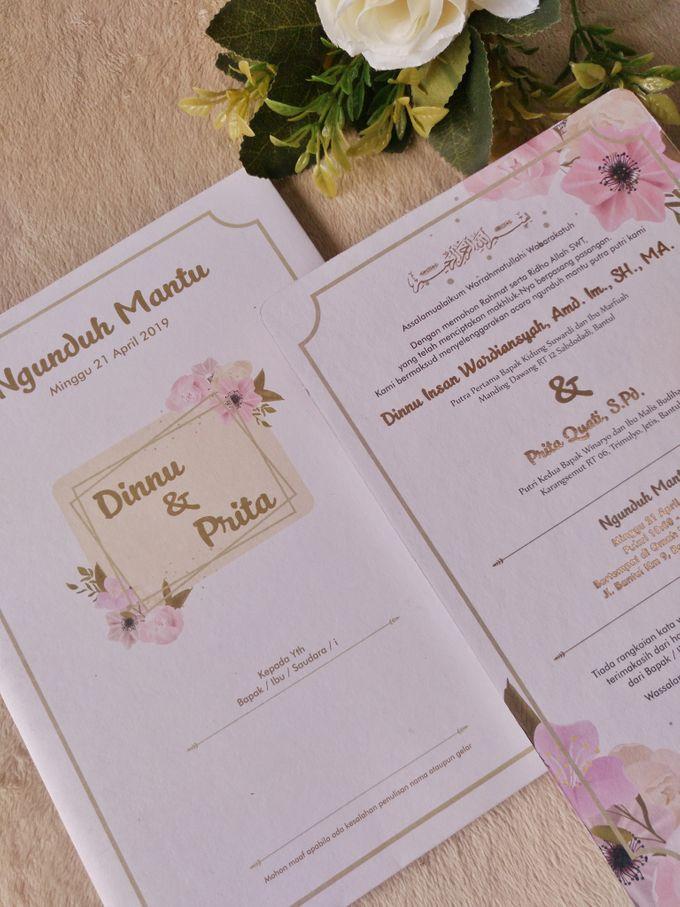 Dinnu & Prita - Invitations Hard Cover Cutting by Keeano Project - 002
