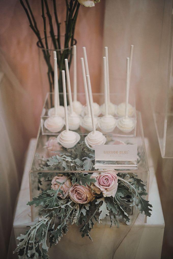 Romantic Dessert Table by Gordon Blue Cake - 027