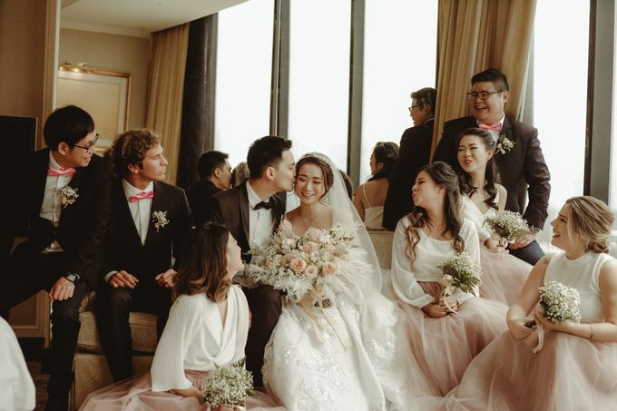 Aldo & Vebi Wedding by Fuchsia Decoration - 028