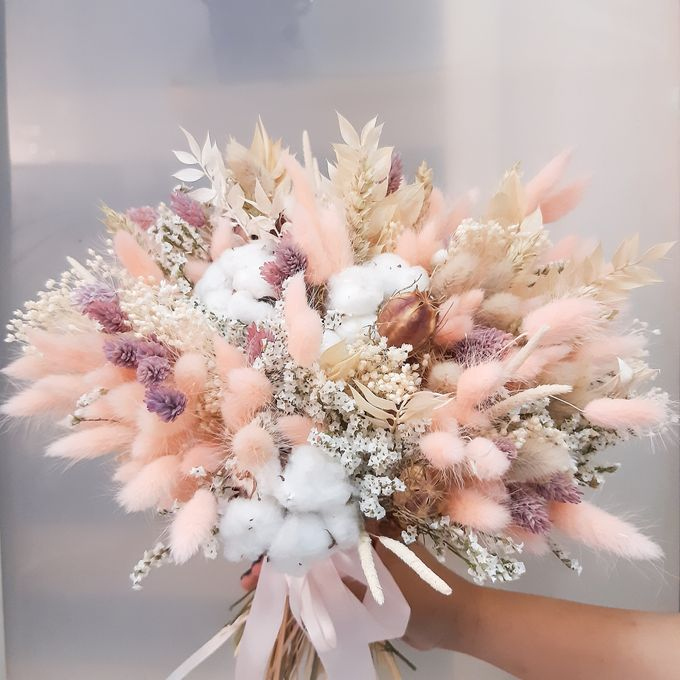 Dried Flower Bouquet by Tiffany's Flower Room - 002