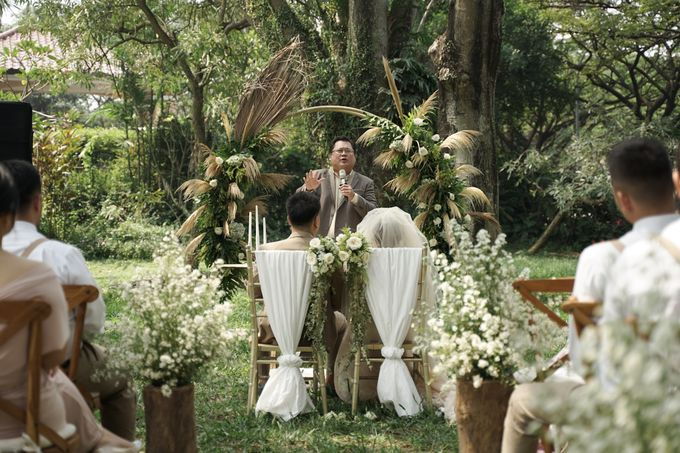 Ceremony Wedding Revi & Angel 19 Mei 2019 by Priceless Wedding Planner & Organizer - 007