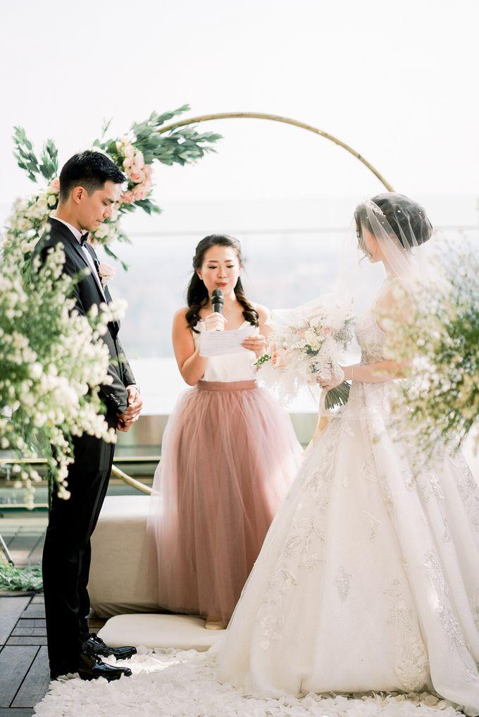Aldo & Vebi Wedding by Fuchsia Decoration - 013