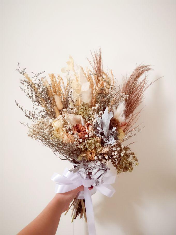 Dried Wedding Bouquet Series by Frisch Florist - 005