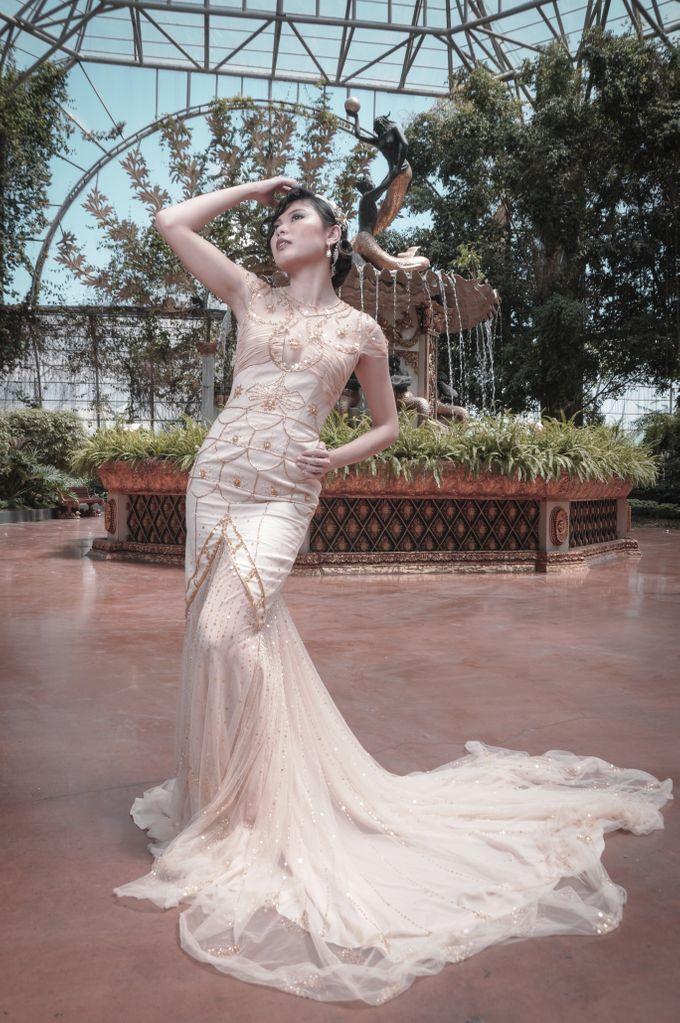 Great Gatsby Themed Wedding by Obra Alta Costura - 001