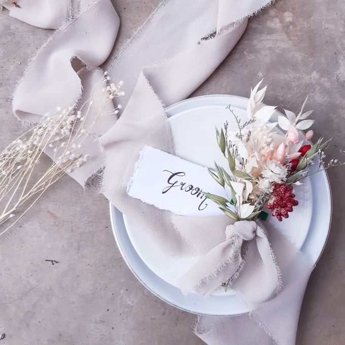 The Wedding of Ms. ST by Tiffany's Flower Room - 001