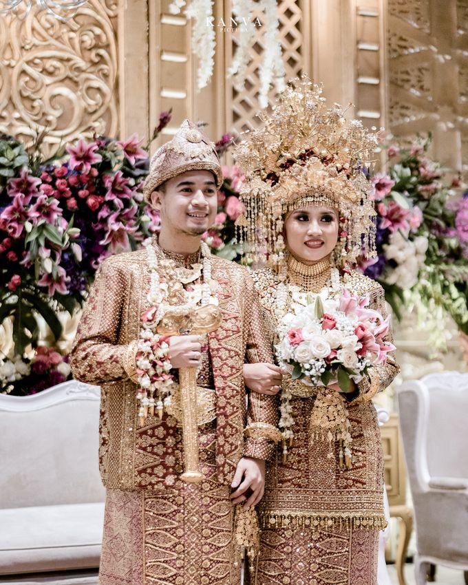 Wedding Rendra & Indri Granada Ballroom Menara 165 by Medina Catering - 018