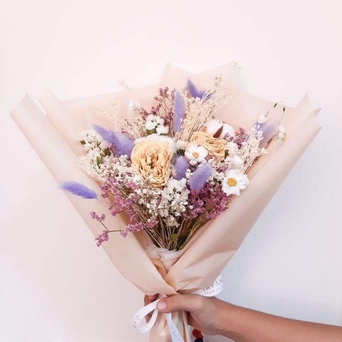 Dried Flower Bouquet by Tiffany's Flower Room - 004