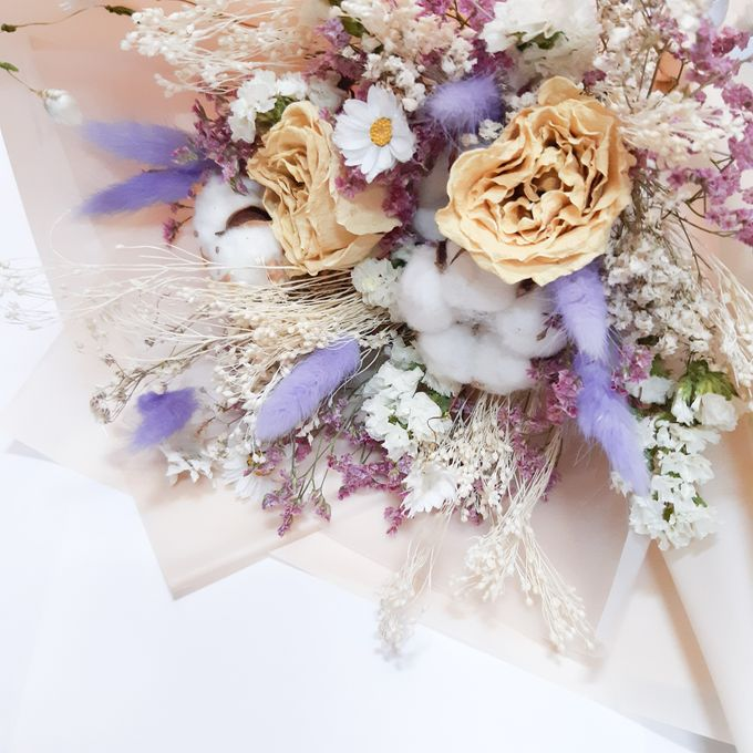 Dried Flower Bouquet by Tiffany's Flower Room - 003