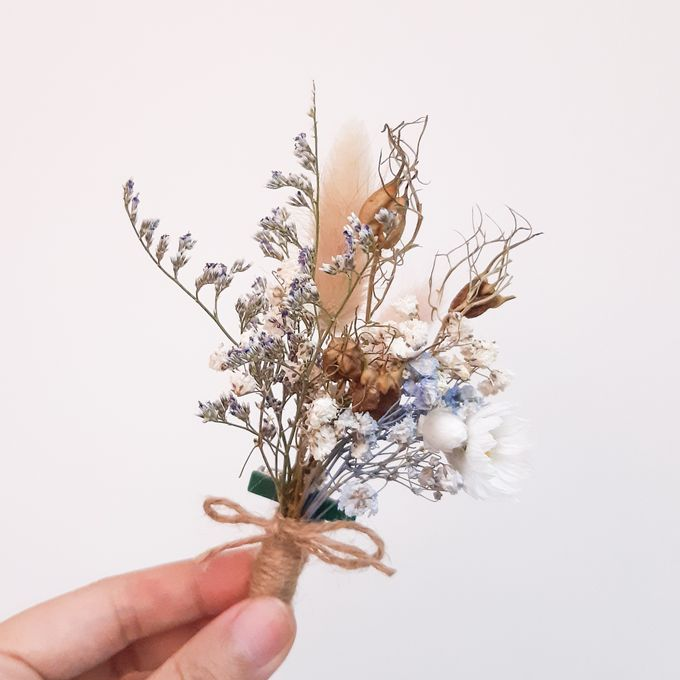 Dried Flower Bouquet by Tiffany's Flower Room - 006