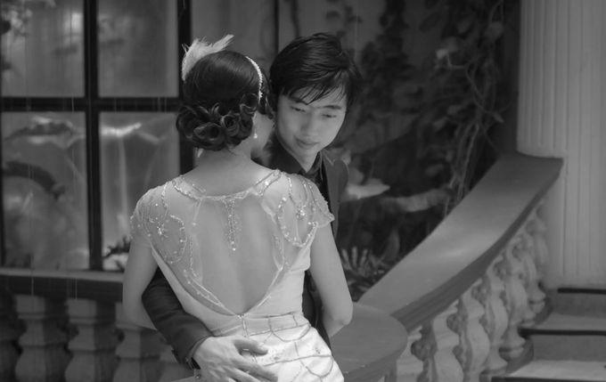 Great Gatsby Themed Wedding by Obra Alta Costura - 003