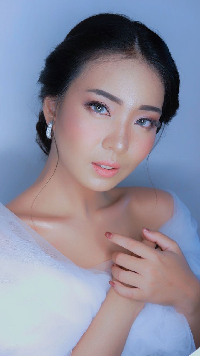 Bride Makeup and Hairdo by lely murwiki - 003