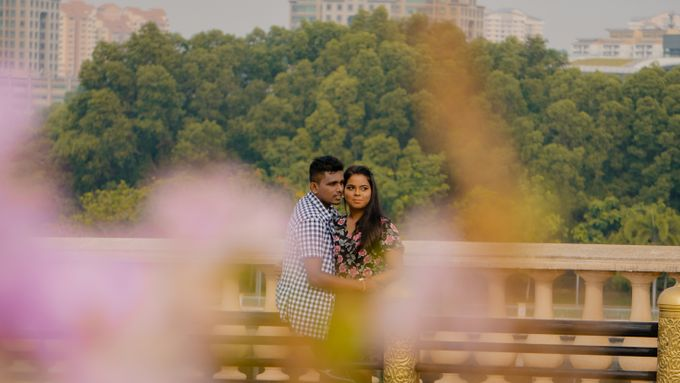 Pre Wedding Photoshoot of Vicky & Usha by Vicknesh Photography - 019