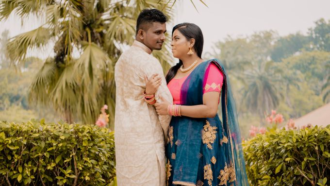 Pre Wedding Photoshoot of Vicky & Usha by Vicknesh Photography - 003