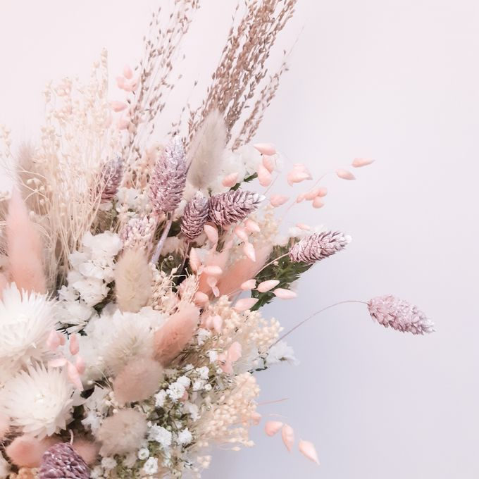 Dried Flower Bouquet by Tiffany's Flower Room - 010