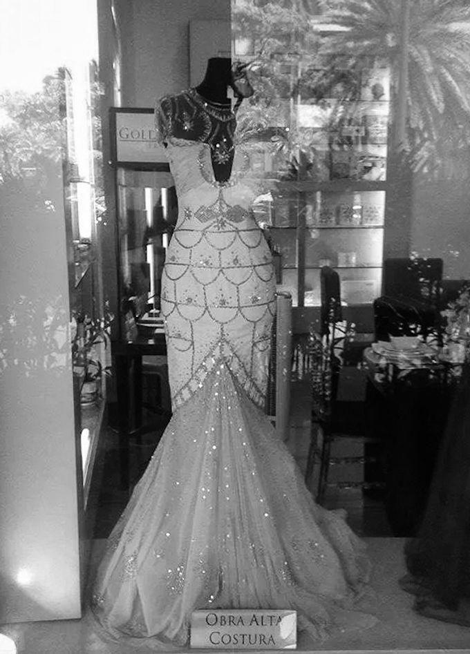 Great Gatsby Themed Wedding by Obra Alta Costura - 002