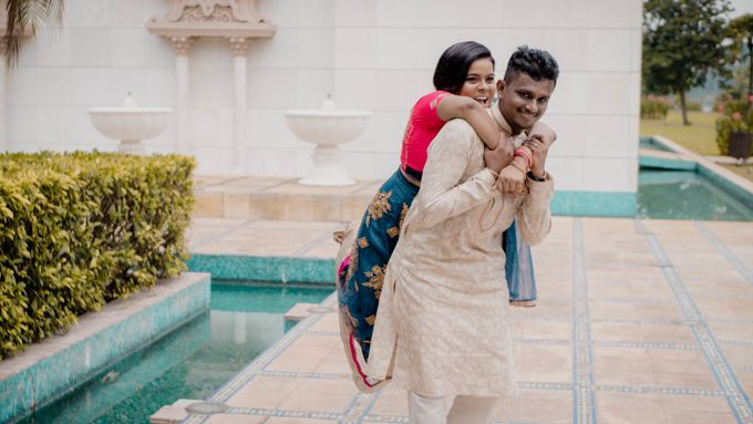Pre Wedding Photoshoot of Vicky & Usha by Vicknesh Photography - 011