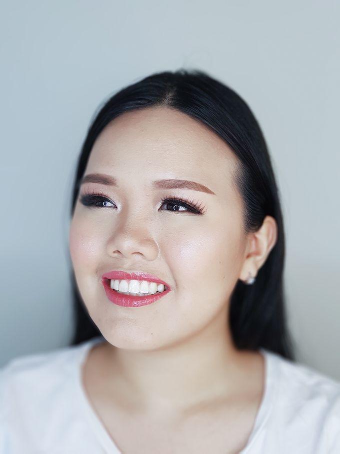 Special Occasion Makeup For Cherry by Devina Martina Sulam Alis - 001