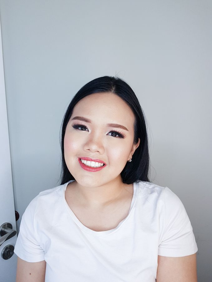 Special Occasion Makeup For Cherry by Devina Martina Sulam Alis - 002
