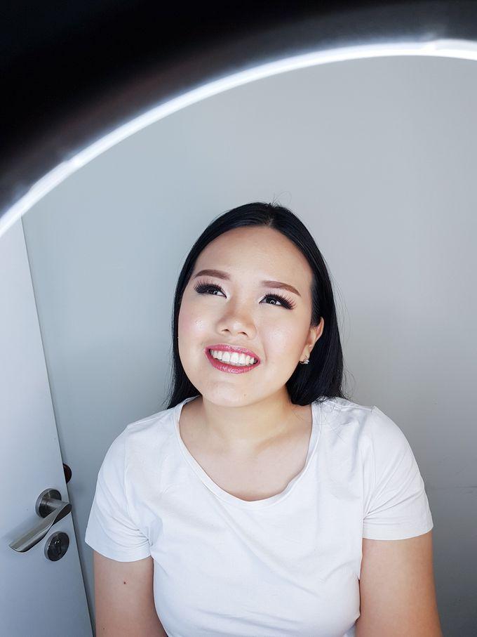 Special Occasion Makeup For Cherry by Devina Martina Sulam Alis - 003