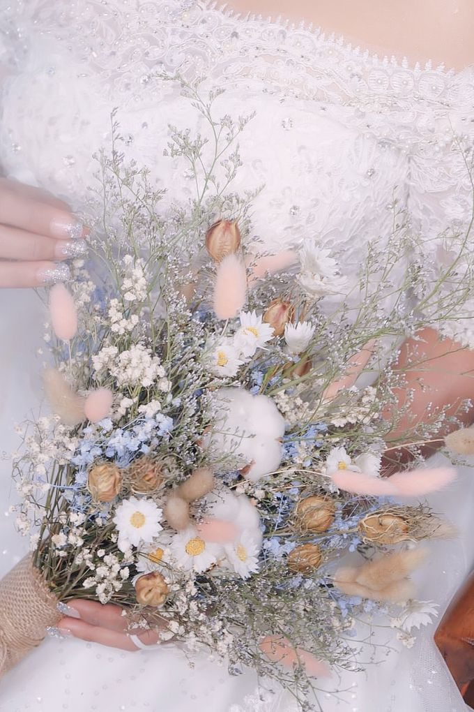 Dried Flower Bouquet by Tiffany's Flower Room - 007