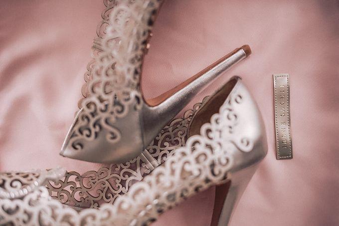 @carissa_nails | #IreneSachliShanaz Silver 12cm by SACHLIRENE TFOTA - 006