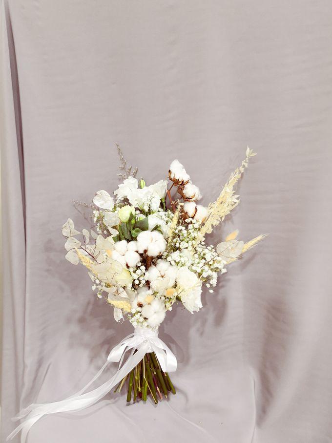 Dried Wedding Bouquet Series by Frisch Florist - 002