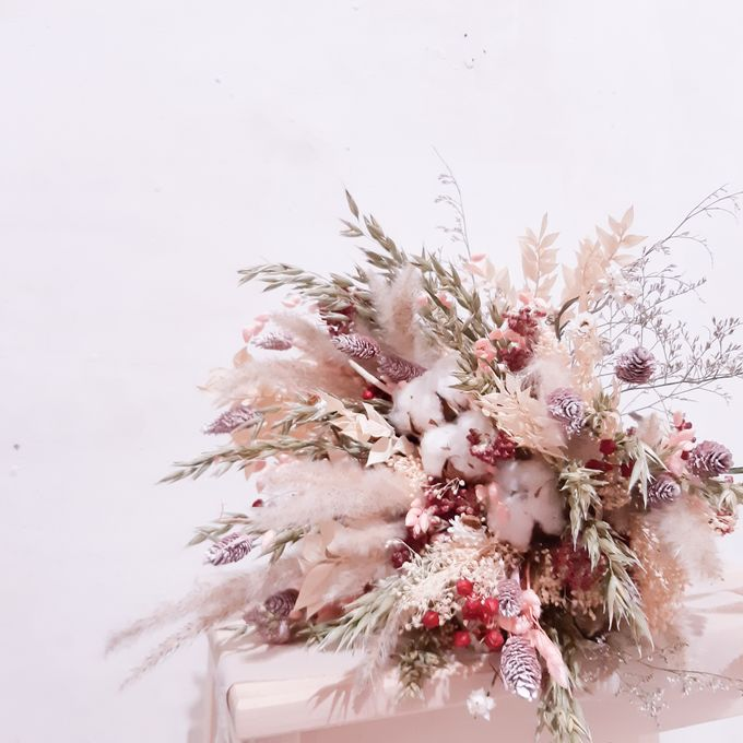 Dried Flower Bouquet by Tiffany's Flower Room - 011