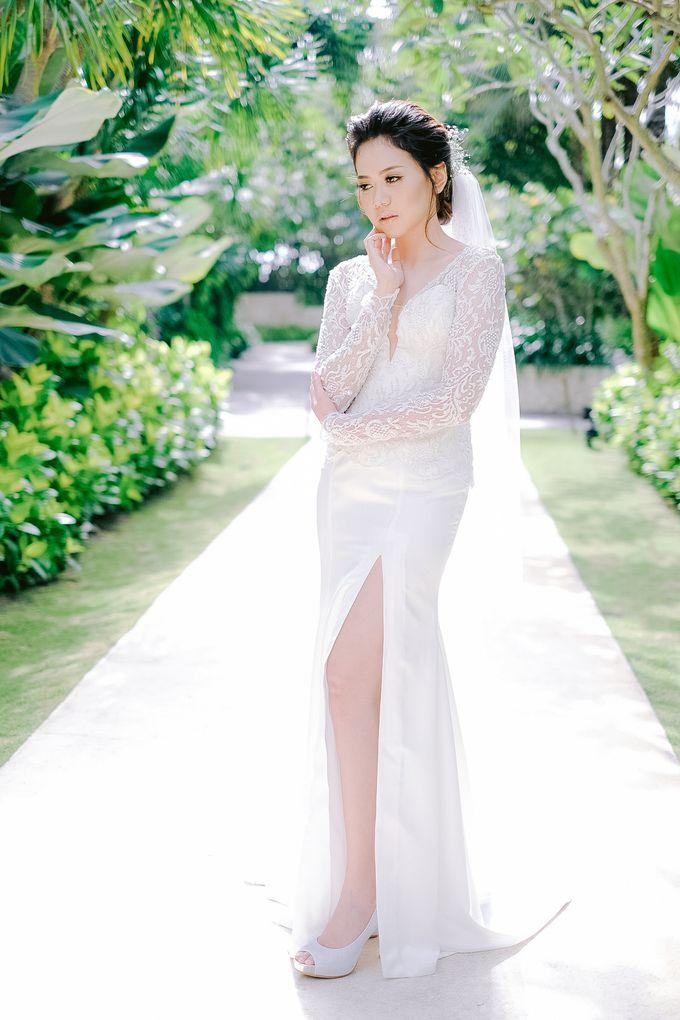 Hotel Mulia Bali Wedding Lala Reza by Rosemerry Pictures - 003