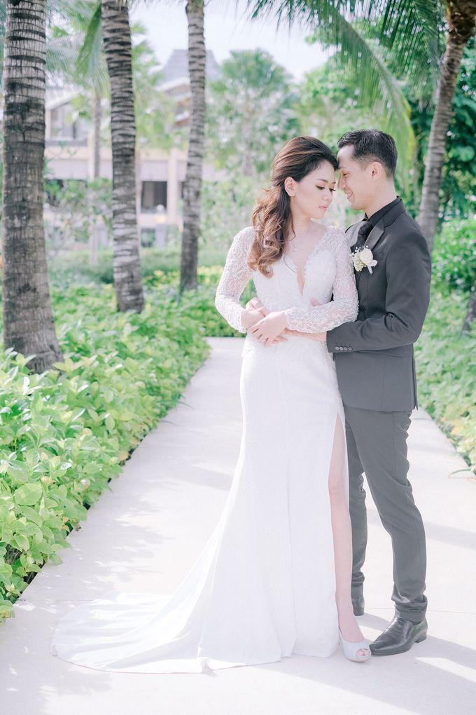 Hotel Mulia Bali Wedding Lala Reza by Rosemerry Pictures - 007