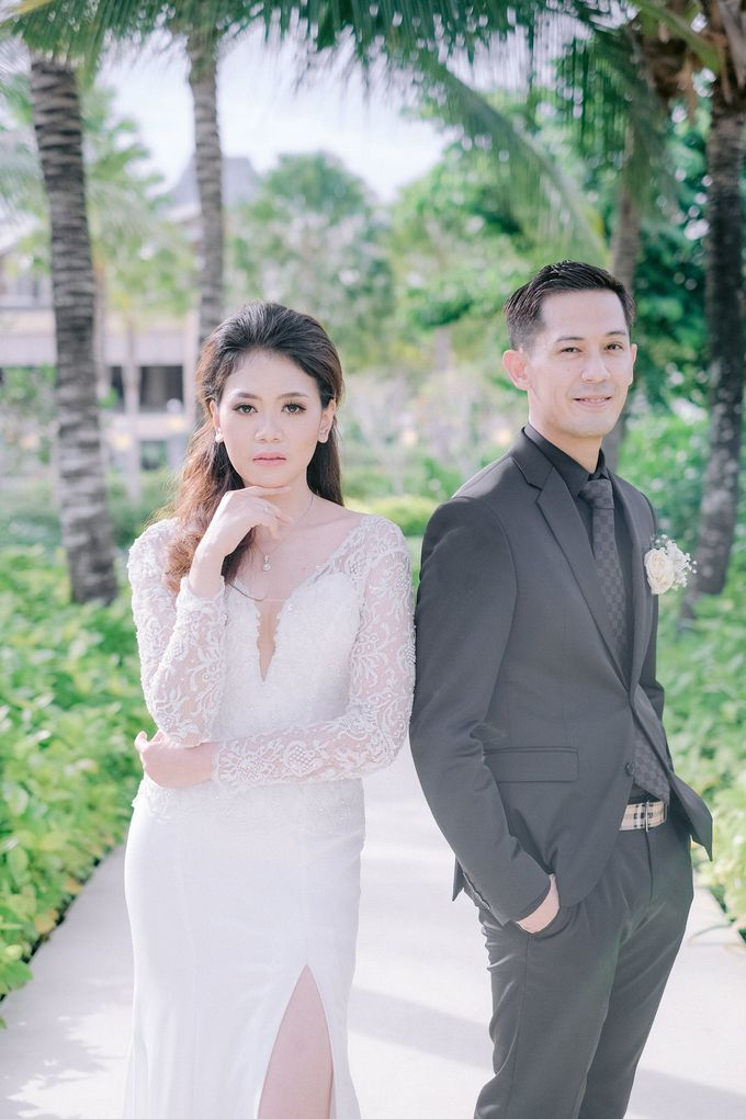 Hotel Mulia Bali Wedding Lala Reza by Rosemerry Pictures - 008