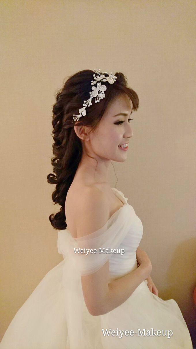 Wedding Actual Day Makeup & Hairstyling by Weiyee-makeup - 003