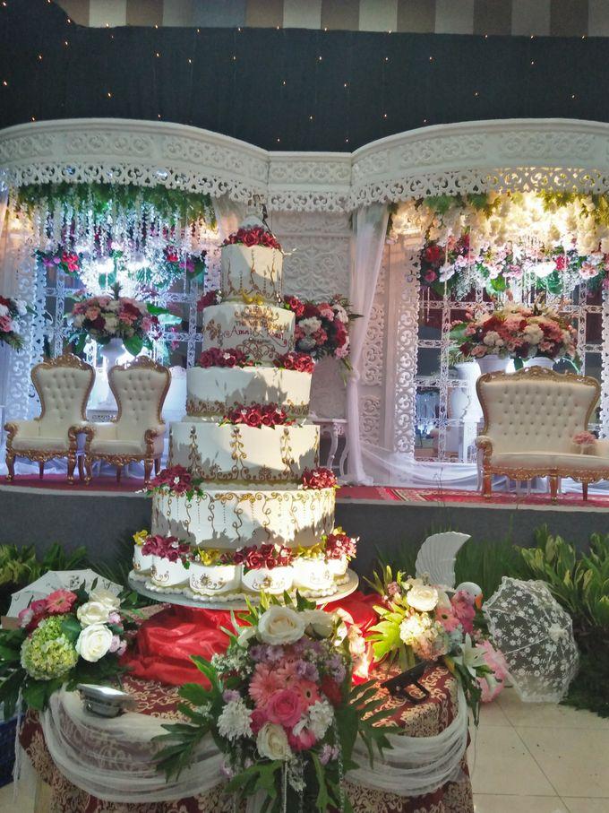 The Wedding Of Amal & Romzi by Uci Bakery - 005