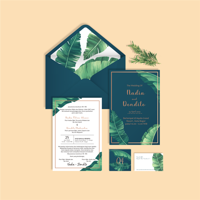 Undangan Ekslusif by Aura: Undangan Pernikahan | Wedding Invitation - 002