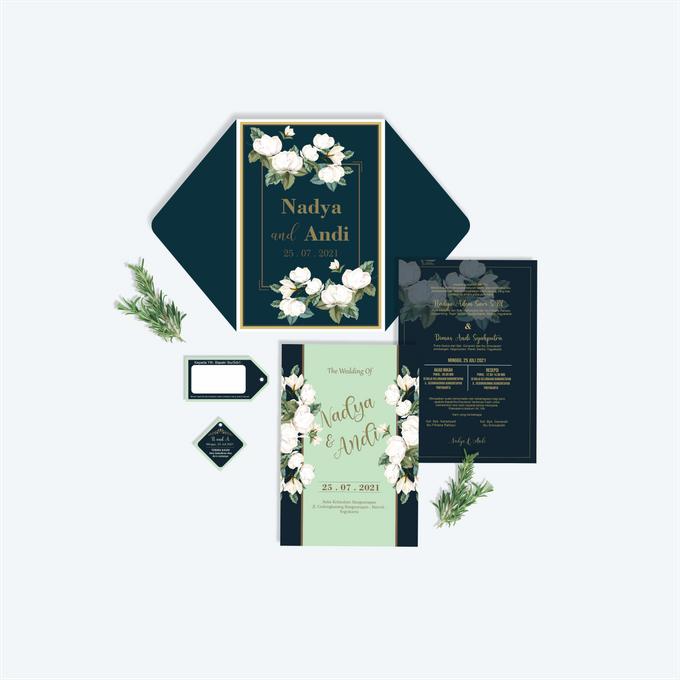 Undangan Ekslusif by Aura: Undangan Pernikahan | Wedding Invitation - 003