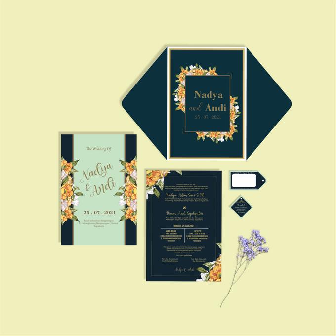 Undangan Ekslusif by Aura: Undangan Pernikahan | Wedding Invitation - 004