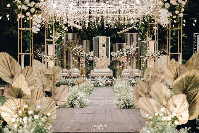 The Wedding of Lucky & Ericia by Elior Design - 010