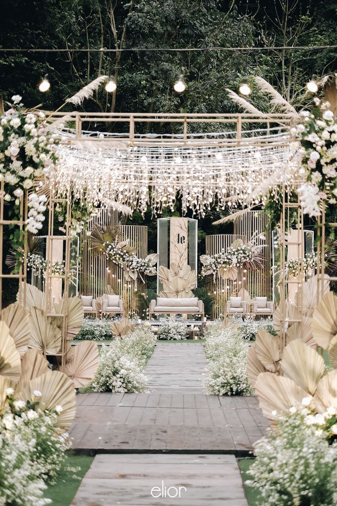 The Wedding of Lucky & Ericia by Elior Design - 011
