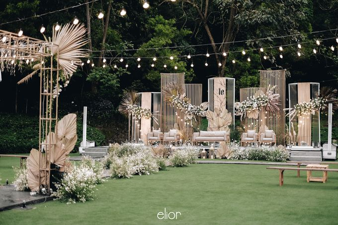 The Wedding of Lucky & Ericia by Elior Design - 013