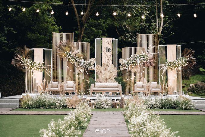 The Wedding of Lucky & Ericia by Elior Design - 014