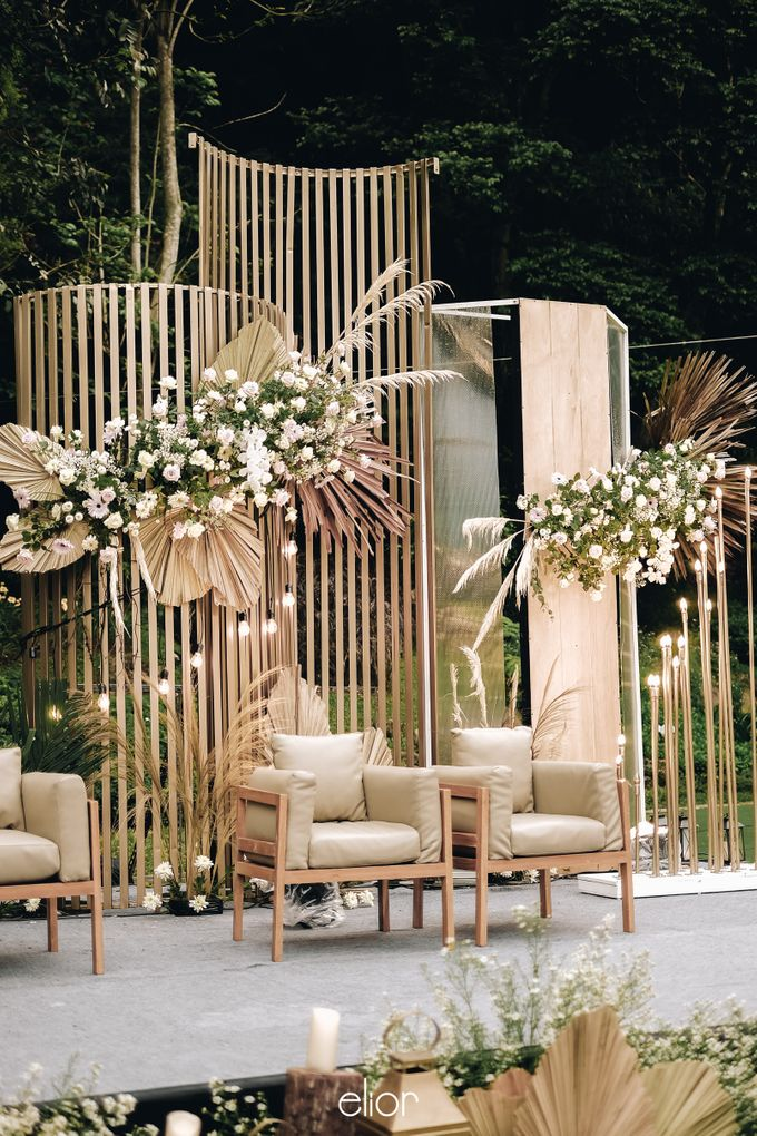The Wedding of Lucky & Ericia by Elior Design - 016