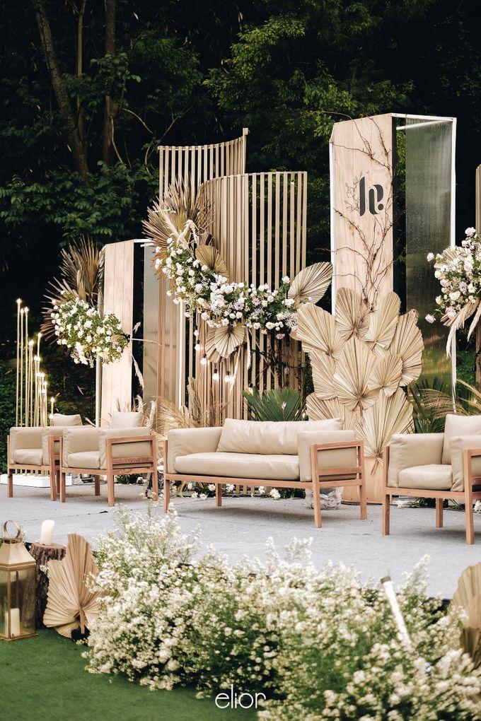 The Wedding of Lucky & Ericia by Elior Design - 017