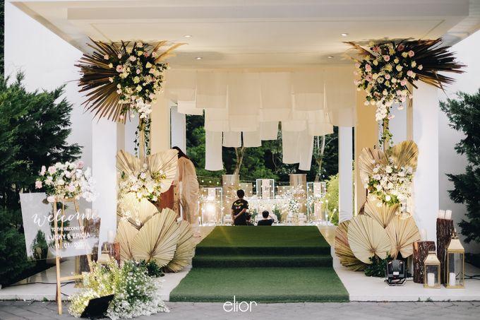 The Wedding of Lucky & Ericia by Elior Design - 019