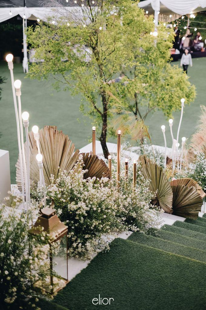 The Wedding of Lucky & Ericia by Elior Design - 020
