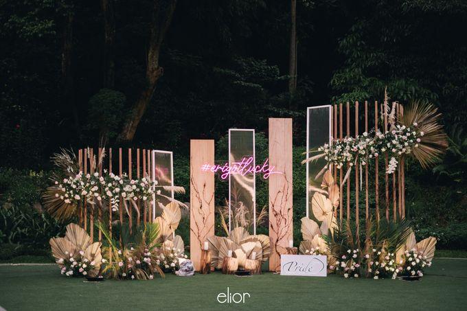 The Wedding of Lucky & Ericia by Elior Design - 023