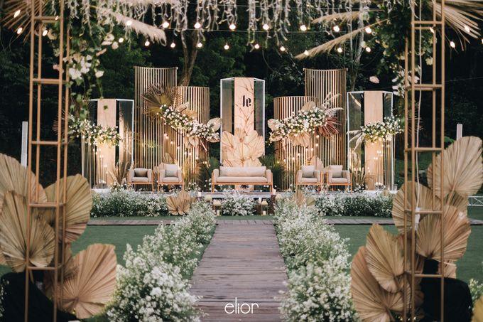 The Wedding of Lucky & Ericia by Elior Design - 028