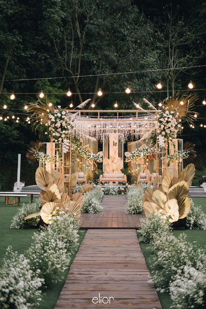 The Wedding of Lucky & Ericia by Elior Design - 029