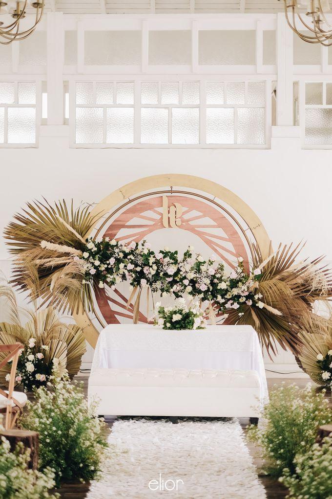 The Wedding of Lucky & Ericia by Elior Design - 003