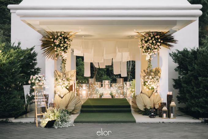 The Wedding of Lucky & Ericia by Elior Design - 030