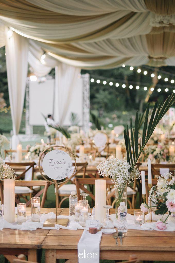 The Wedding of Lucky & Ericia by Elior Design - 031