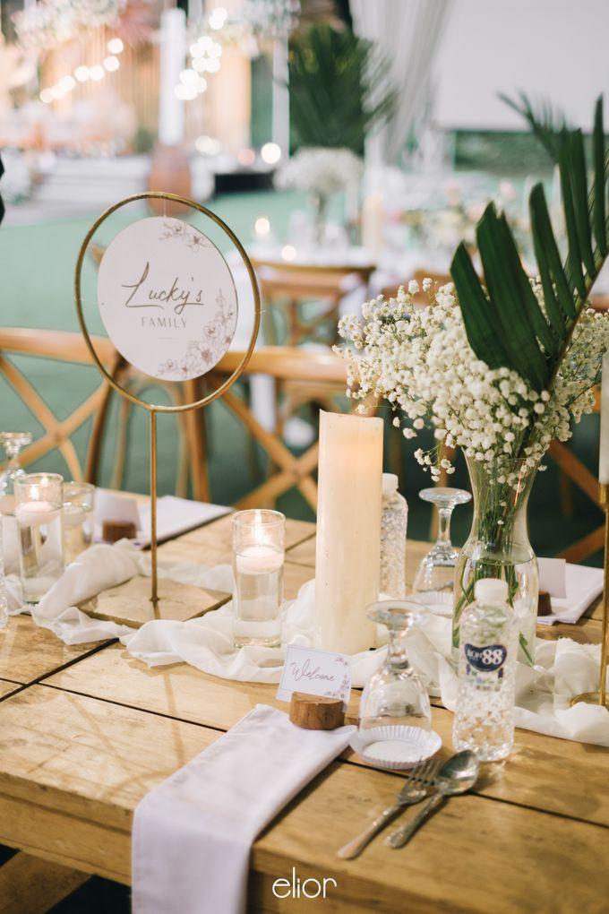 The Wedding of Lucky & Ericia by Elior Design - 034